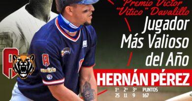 Hernán Pérez, el Jugador Más Valioso de la Temporada 2020-21