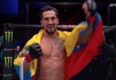 El Venezolano Omar Morales triunfa nuevamente en UFC 260