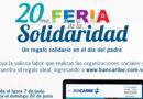 Vigésima Feria de la Solidaridad Bancaribe para encontrar un regalo solidario para Papá